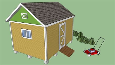 how to build a storage shed plans free woodworking