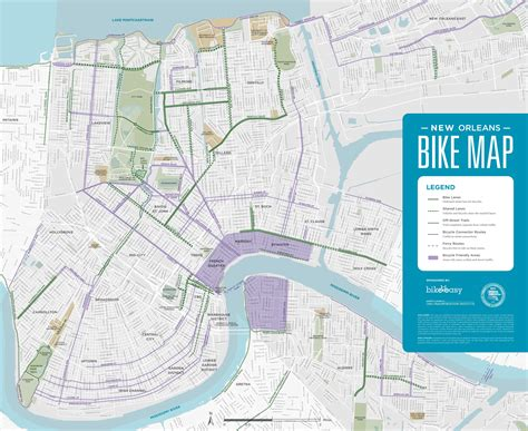 map usa new orleans new orleans bike map
