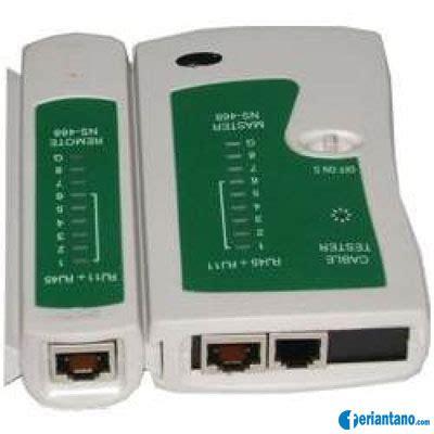 Alat Test Lan fungsi kabel cross dan kabel one for all