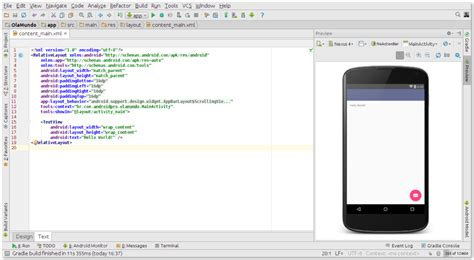 layout landscape android studio 06 passos essenciais para come 231 ar com android studio