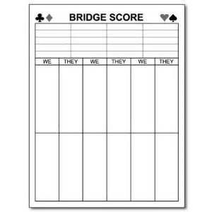 bridge score card template 6 best images of bridge tally cards printable printable
