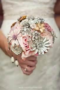 20 chic brooch wedding bouquets with diy tutorial deer pearl