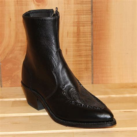 mens boot clearance sale clearance ab 6900 070 d s 7 quot black goat skin western
