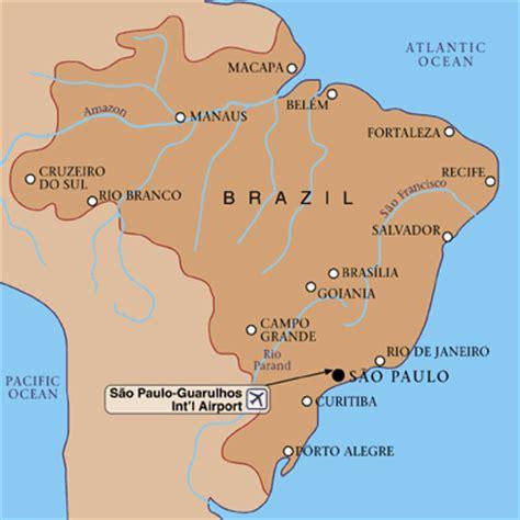 sao paulo on world map guarulhos governador andre franco montoro international