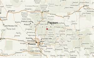 map of payson arizona payson az map my