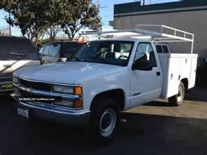 2000 chevrolet 3500 work truck 5 7 liter