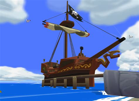 legend of zelda wind waker turns 10 years old today - Barco Pirata Zelda Wind Waker
