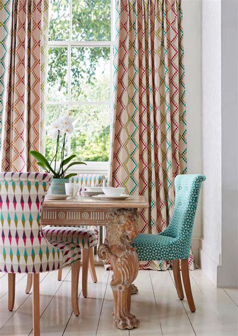 telas para sillas de comedor comedor con telas estadas de harlequin telas