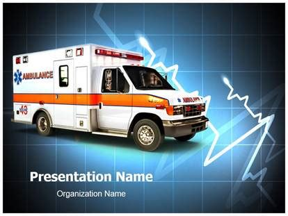 Ambulance Powerpoint Template Free Ambulance Medical Powerpoint Template For Medical Powerpoint Presentations