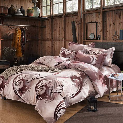 best fabric of luxury king size bedding sets