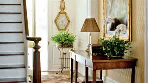 how to decorate your foyer southern living