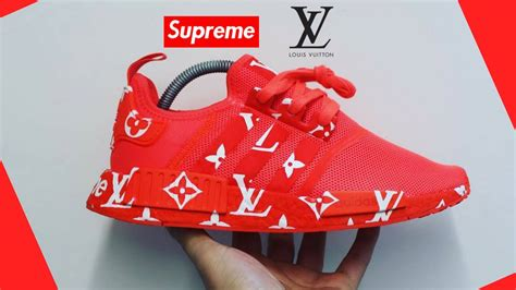 Adidas Nmd Lv X Supreme supreme x louis vuitton x adidas nmd r1 quot sup quot s31507 order