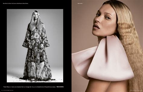 Kate Moss Named Model Of The Year by Some Named Kate I D Models Mdx