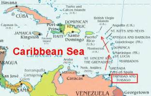 Where Is Trinidad And Tobago Located On The World Map by Trinidad Permission To Come Aboard