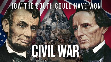 who won the war american civil war how the south could won