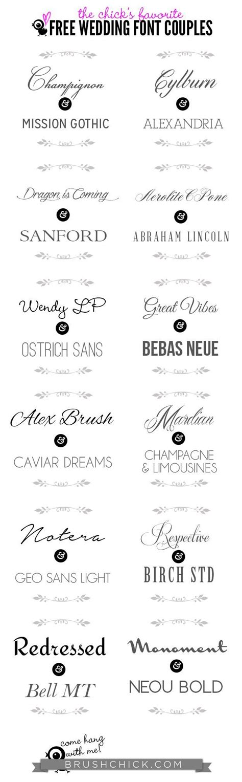 Wedding Font Brush by 1000 Images About Wedding Invitations On
