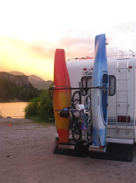 the rv kayak racks are for bikes surfboards paddle