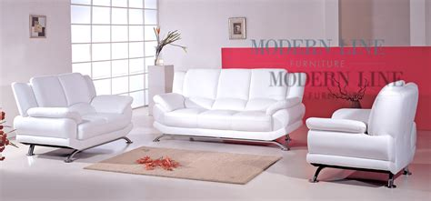 white sofa and loveseat modern line furniture commercial furniture custom made