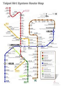 Taipei Metro Map by Taiwan Maps Taipei Mrt System Route Map