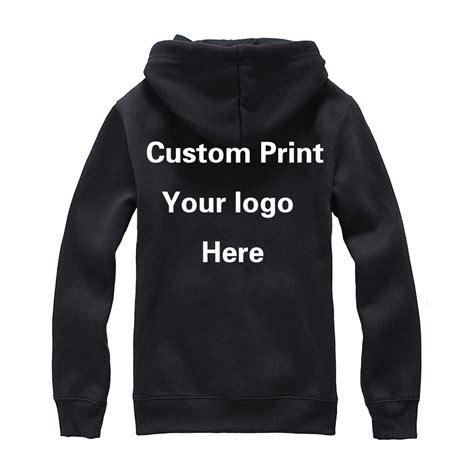 design hoodie with logo custom print logo hood sweatshirt unisex customized