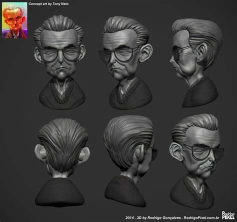 tutorial zbrush cartoon 29 best 3d speed sculpting images on pinterest sculpture
