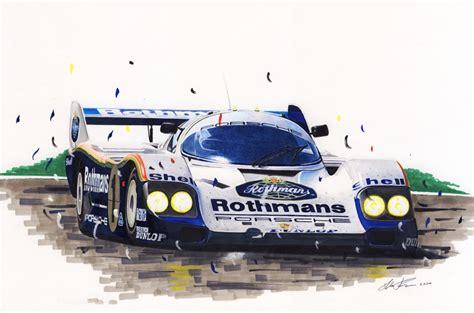 Porsche 956 Sketches Of Performance by Porsche 956 2615482