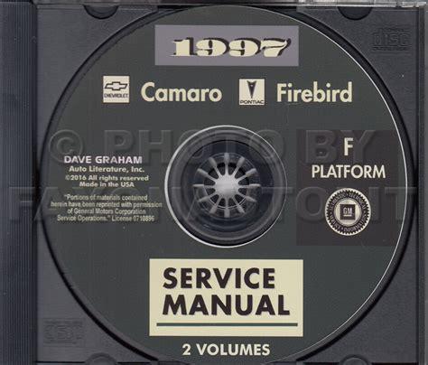 service and repair manuals 1997 chevrolet camaro spare 1997 camaro trans am firebird shop manual cd chevy z28 pontiac service repair ebay