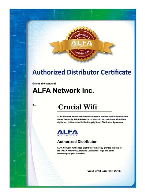 Reseller Welcome alfa network official wireless network distributor uk
