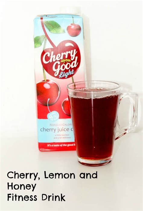 Lemon And Honey Detox Drink Recipe by Healthy Drink Recipes With Cherry In The Playroom