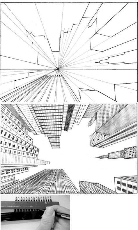 2 Drawings In 1 by 25 Best Ideas About Vanishing Point On