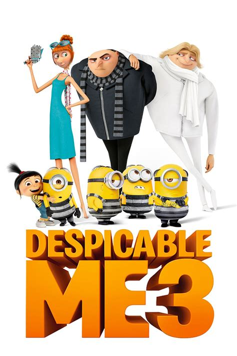 despicable me 3 despicable me 3 2017 posters the database tmdb