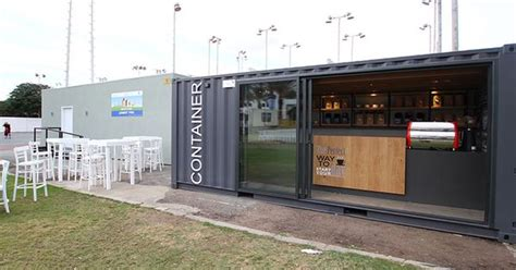 coffee shop design competition the container a mobile coffee shop planned and designed