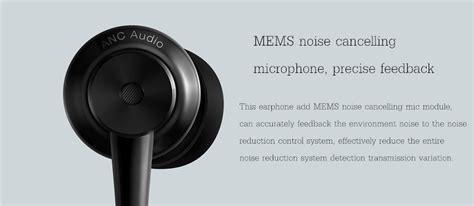 Earphone Xiaomi Mic Colour original xiaomi active noise canceling usb type c hybrid driver earphone headphone with mic