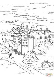The Globe Theatre Outline by Globe Theater Coloring Page Free Printable Coloring Pages