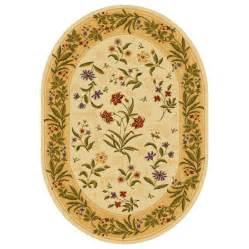 shop shaw living summer flowers oval floral area rug