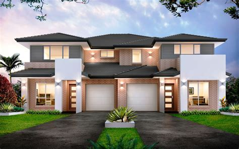 home design builders sydney forest glen 50 5 duplex level by kurmond homes new