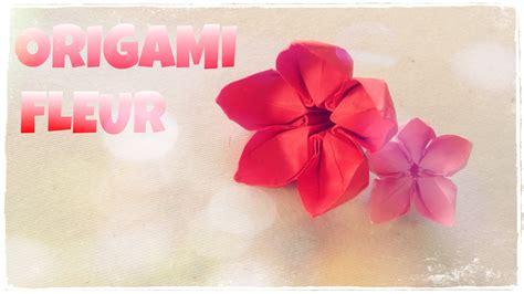 Fleur Origami - comment faire une fleur en origami fleur en papier