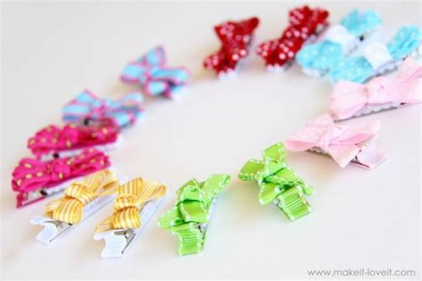 41 how to make hair bows babies and you tip