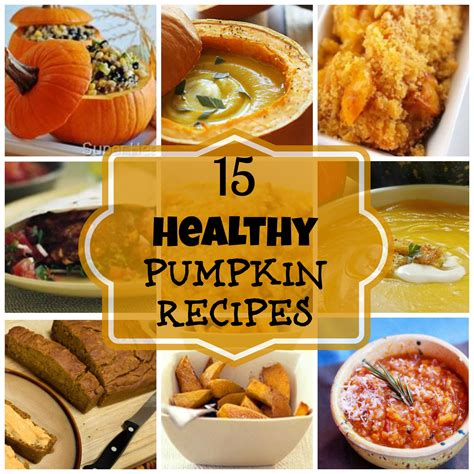 15 healthy pumpkin recipes natural green mom