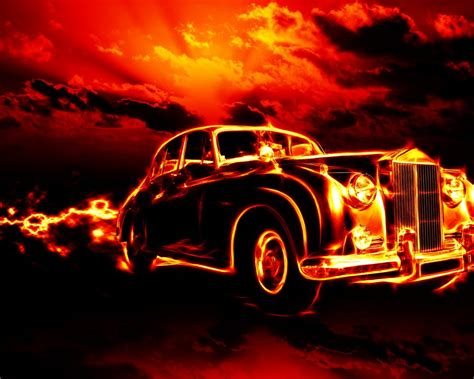 fire classic car hd wallpapers  desktop
