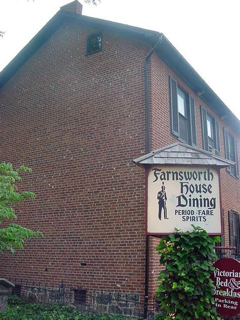 farnsworth house gettysburg farnsworth house gettysburg pennsylvania