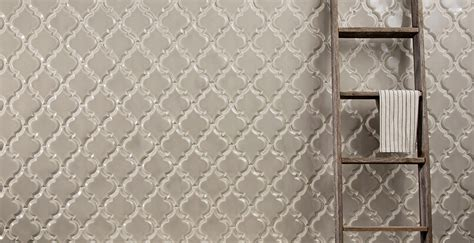beveled arabesque glazed ceramic wall tile backsplash tiles
