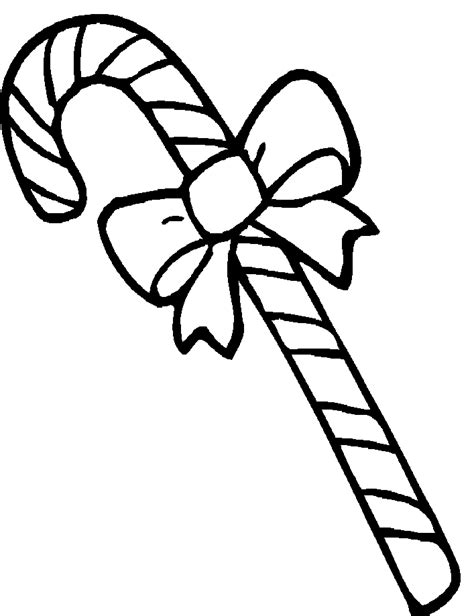 candy cane printable coloring home