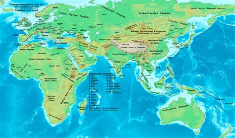 world map 500 ad google images