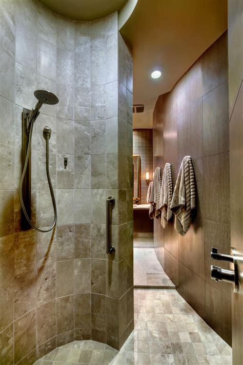 bathroom shower design ideas bathroom design trend no threshold showers hgtv