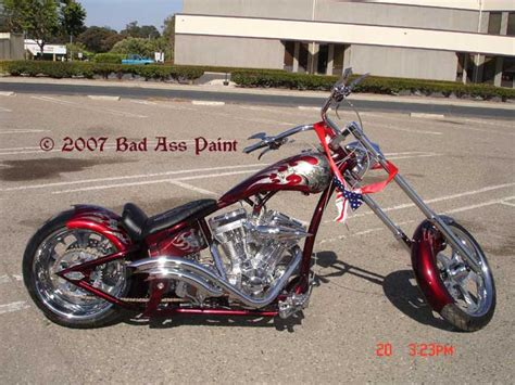custom motorcycle paint by bad paint