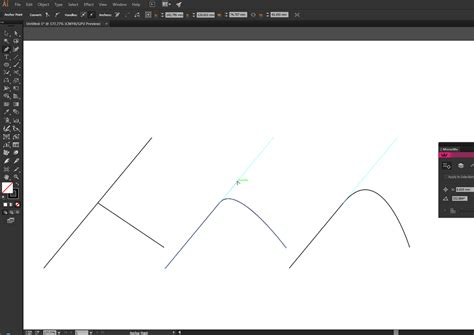 adobe illustrator cs6 graphic design vector easy way to make smooth connection in adobe