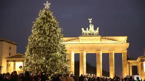 weinachsbaume berlin 30 000 lichter funkeln vor dem brandenburger tor berlin bild de