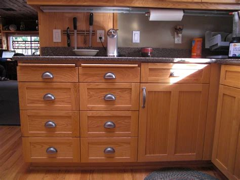 Handmade Oak Kitchens - great custom handmade varnished alder cabinets for