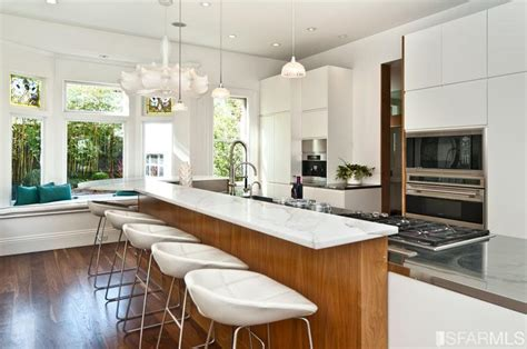 Craftsman Homes Interiors by San Francisco Victorian Mansion Kitchen Hooked On Houses